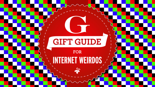 Click here to read Gift Guide Roundup: Gifts for Internet Weirdos