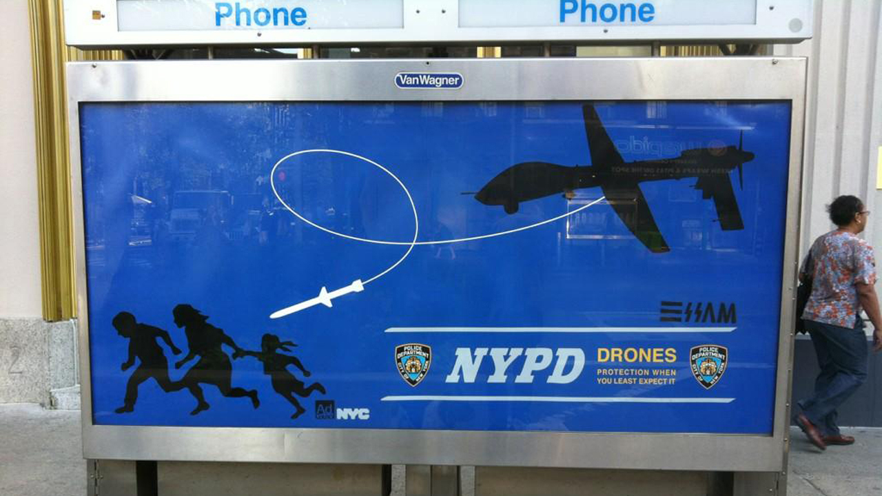 Click here to read NYPD Proves Street Artist Right by Tracking Him Down and Arresting Him