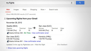 Google Search Detects the Status of Your Upcoming Flights, Sends You Reminder Notifications