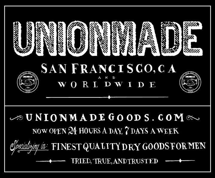 Click here to read AFL-CIO Tells Non-Union Store 'Unionmade' to Stop With the 'Unionmade' Crap