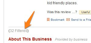 Check Yelp's Filtered Reviews for More Informed Decisions