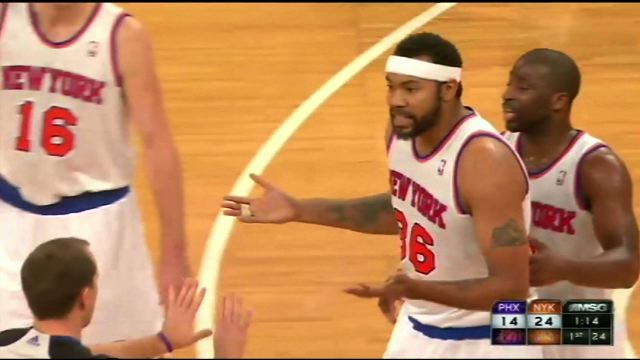 Rasheed Wallace Just Got Ejected After 85 Seconds Of Playing Ti…
