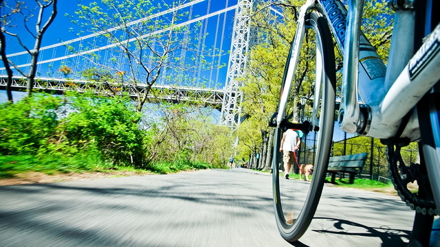 These Pictures of NYC From a Bicycle's Perspective Are Totally Breathtaking