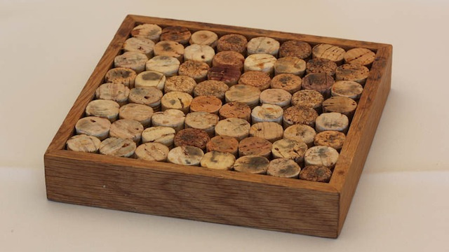 Recycle Old Wine Corks into a Pot Stand or Trivet