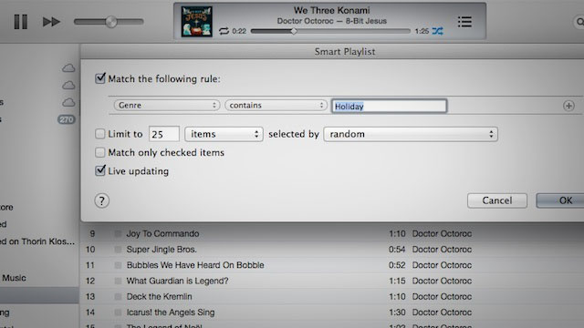 How to Exclude Holiday Music from Your iTunes Genius Playlists