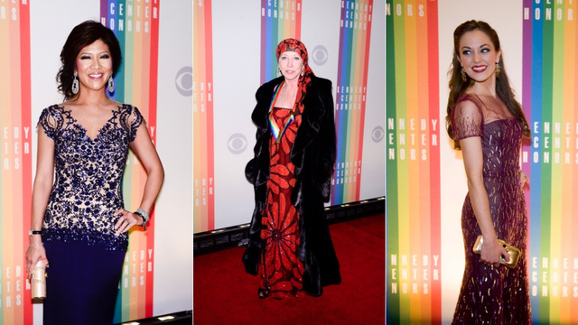 Living Legends and the Stars Who Love Them Get Glam for the Kennedy Center Honors