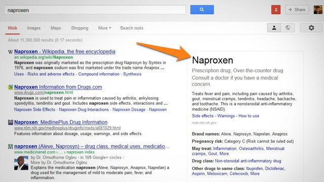 Google Adds Detailed Medication Info to Its Smart Search Results