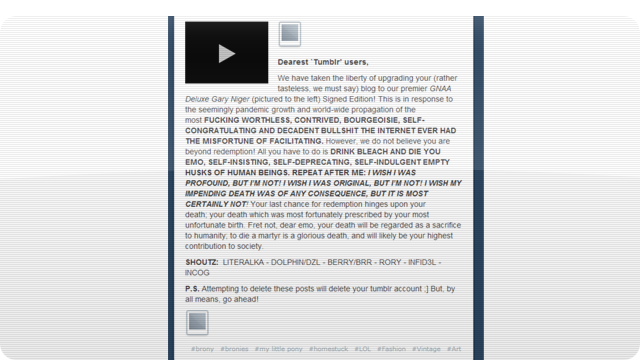 Tumblr Gets Hacked