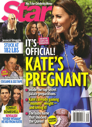 It's Official: Kate Middleton Is Pregnant