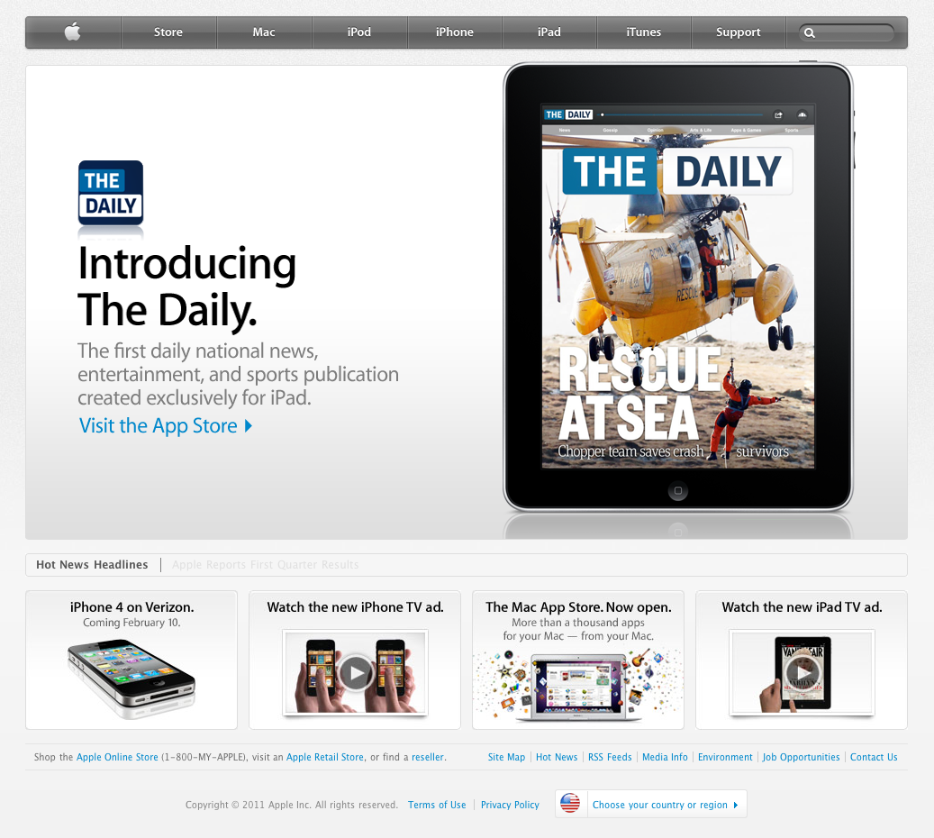 Click here to read What It Was Like Launching the Doomed iPad Magazine <i>The Daily</i>