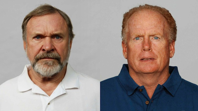 Philadelphia Eagles' Line Coaches Jim Washburn And Howard Mudd …