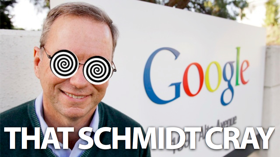 A Book About Everything By Eric Schmidt Comes Out April 23