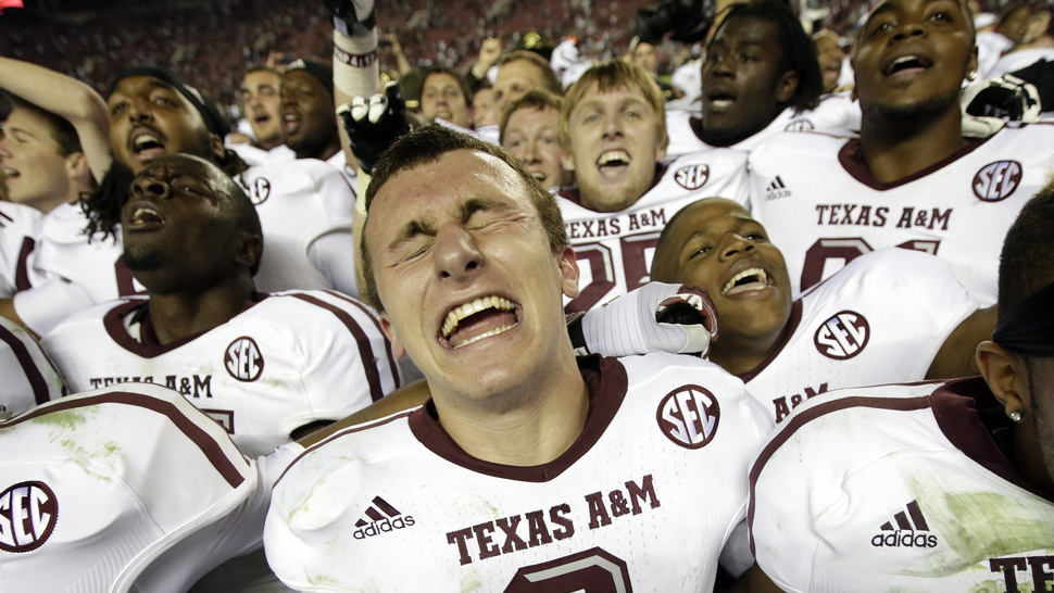 Johnny Manziel Watched <em>300</em> Before The Alabama Game