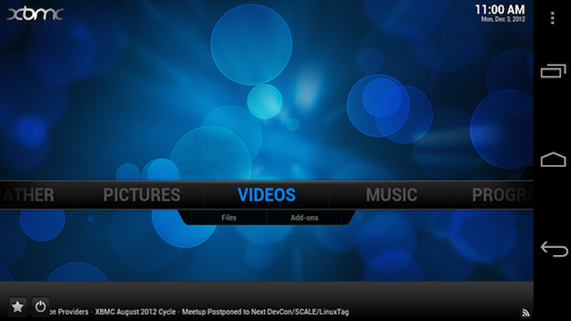 XBMC Unveils an Official Beta for Android Devices