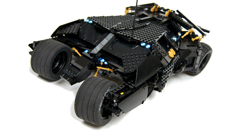 mind blowing lego tumbler looks as detailed as the real. Black Bedroom Furniture Sets. Home Design Ideas