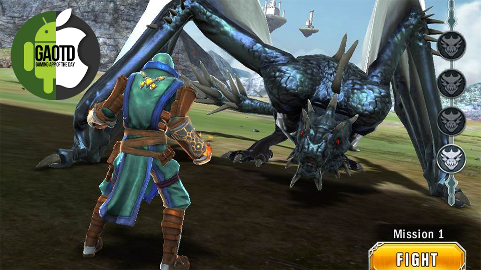 Gaming App Of The Day: If You Want To Kill Dragons, This Is Your