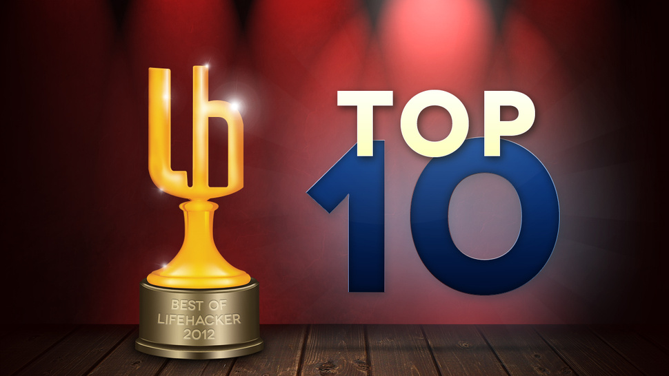 Most Popular Top 10s of 2012