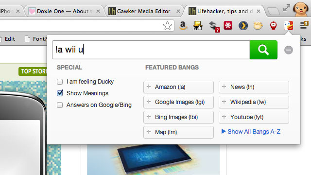 DuckDuckGo for Chrome Powers Up Your Search Results