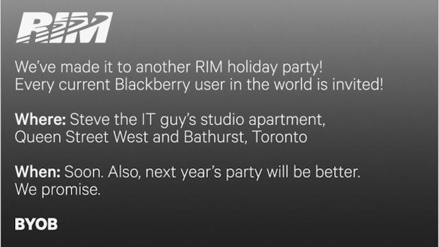 What Would Happen If Tech Companies Made Party Invitations