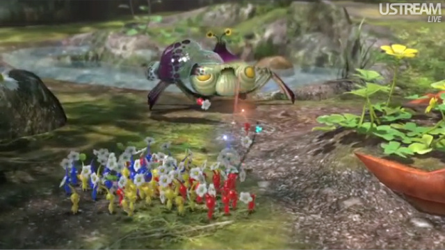 Pikmin 3 on the Wii U Looks Glorious. It'll Be Out Next Spring in Japan.
