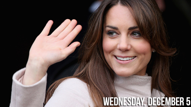 Kate Middleton Still Royally Puking in the Hospital