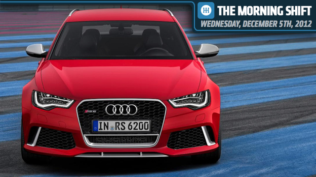 Audi's RS6 Avant Destroys Worlds, Subaru Looks At Indiana, And Mark Fields Changes History