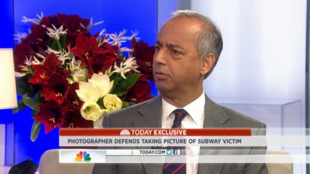 Post Photographer Who Snapped Subway Death Pic Speaks Out: 'I Was Too Far Away'
