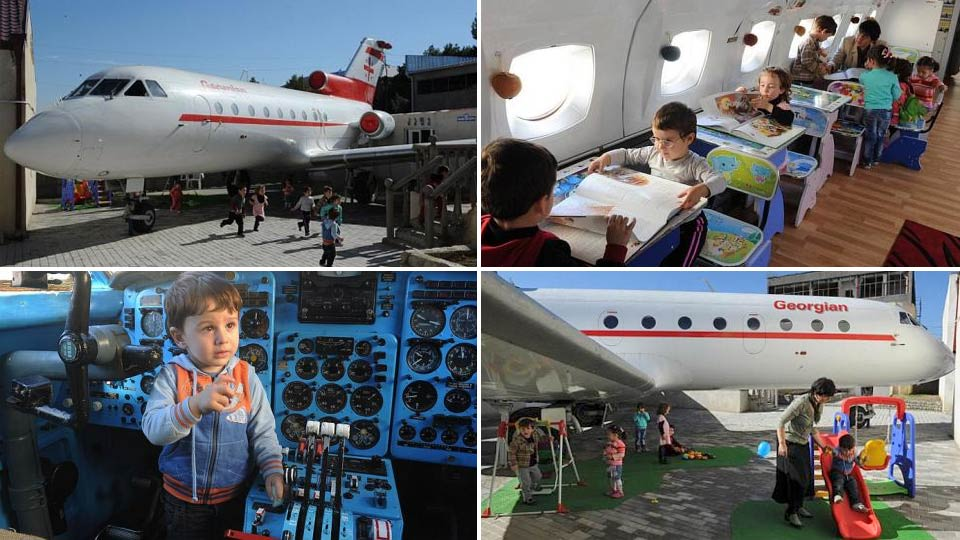 The Luckiest Kids Ever Go To School In A Repurposed Plane