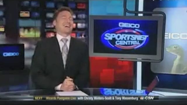 Drunk On Victory, Local DC Sports Reporter Loses His Mind After…