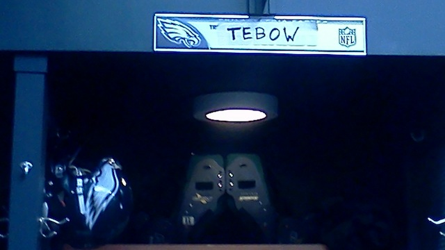 Why Does Eagles Backup Quarterback Trent Edwards's Locker Look …
