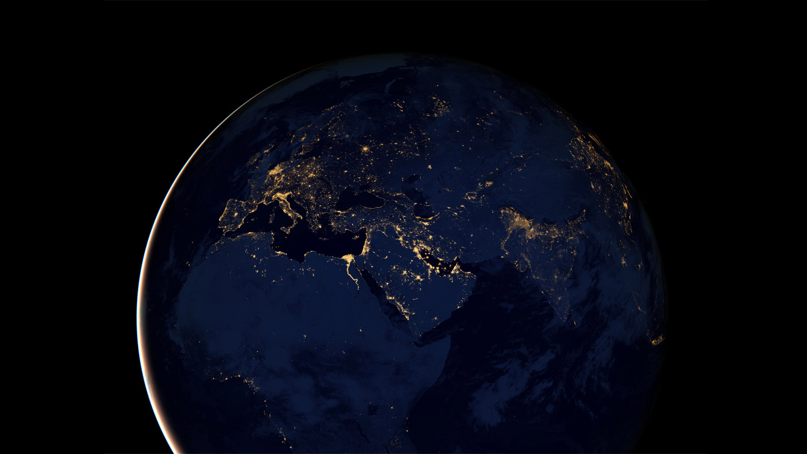 The Most Accurate, Highest Resolution Night Earth View To Date