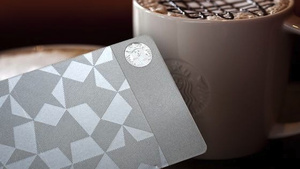medium Starbucks Is Charging $450 for a Specially Etched Metal Gift Card to Buy Coffee Flavored Water