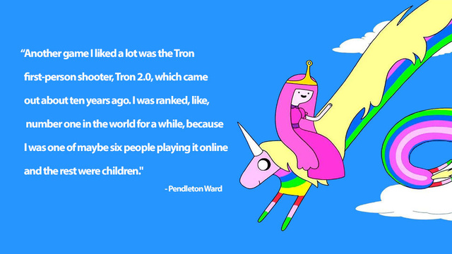 How Adventure Time's Creator Beat Up On Small Kids (In a Video Game)