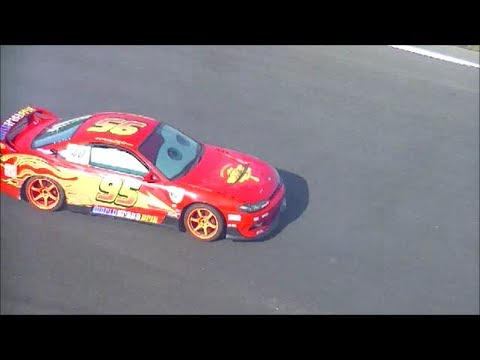 Click here to read Somebody Built A Lightning McQueen Drift Car