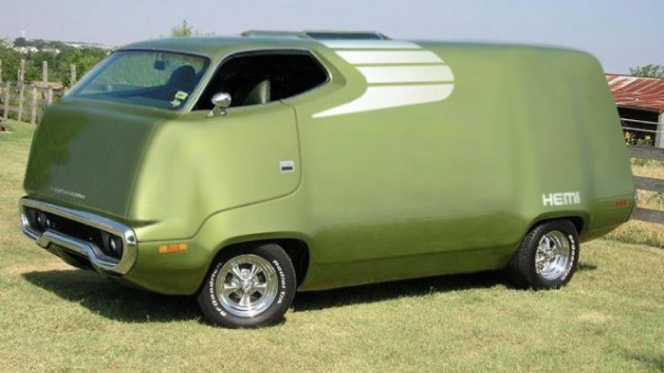 Click here to read If You Can't <em>Buy</em> A Plymouth RoadRunner Van, Photoshop One