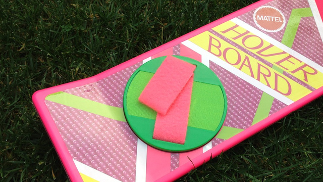 Back to the Future Hoverboard Hands On: So This Is What a Real Life Hoverboard Looks Like