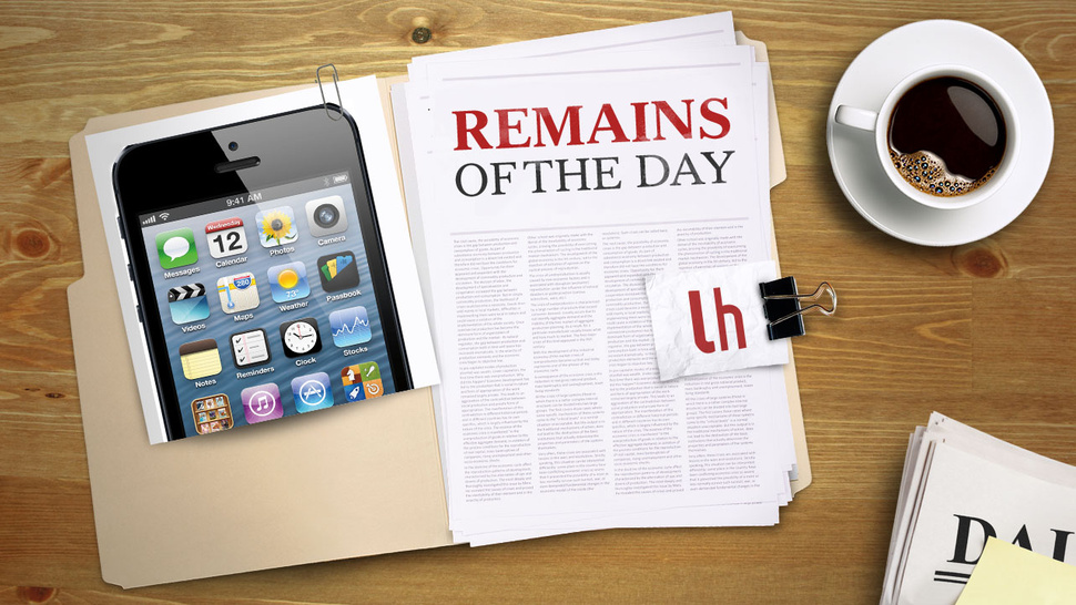Remains of the Day: T-Mobile Will Finally Get the iPhone