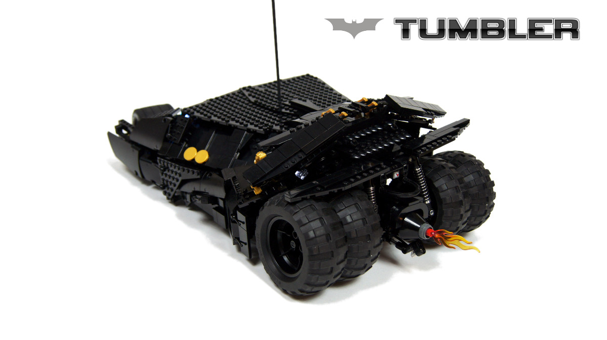how to build the batmobile in lego dimensions instructions