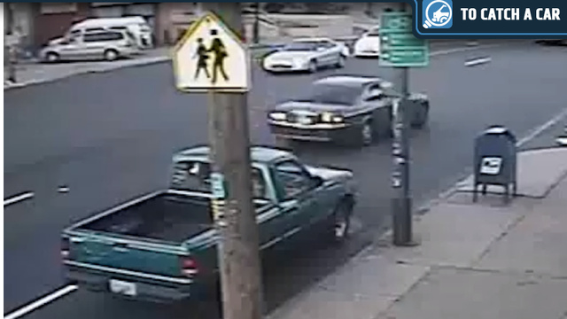 Identify This Sedan And Help Catch A Philly Hit-And-Run Driver Responsible For A Pizza Deliveryman's Death
