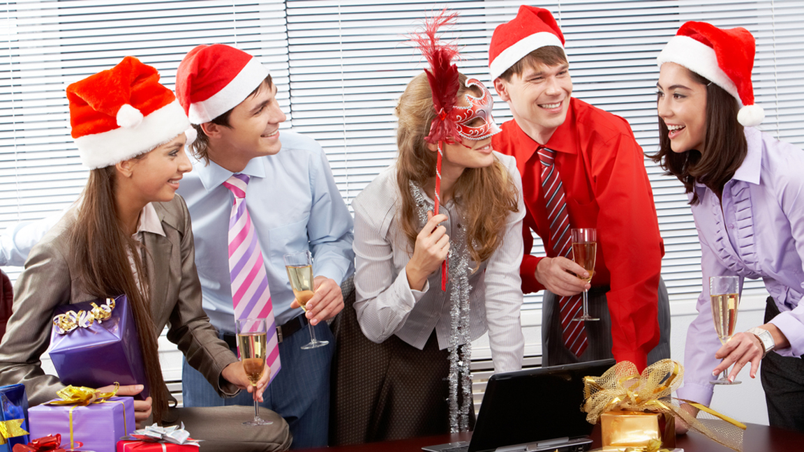 How To Sound Smart At Your Office Christmas Party