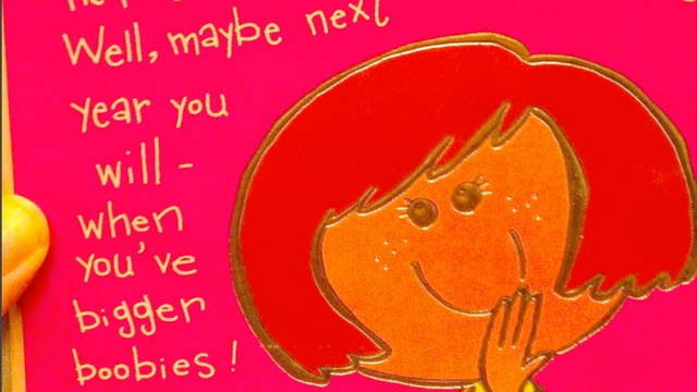 This Is the Worst Birthday Card You Could Possibly Buy a 13-Year-Old Girl