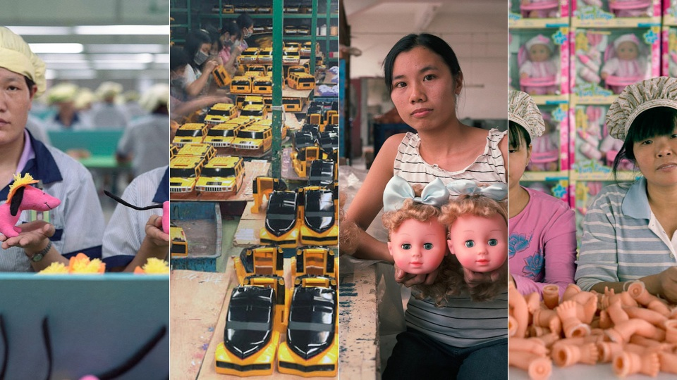 Factory Workers In China Photographed With The Cheap Things They Build