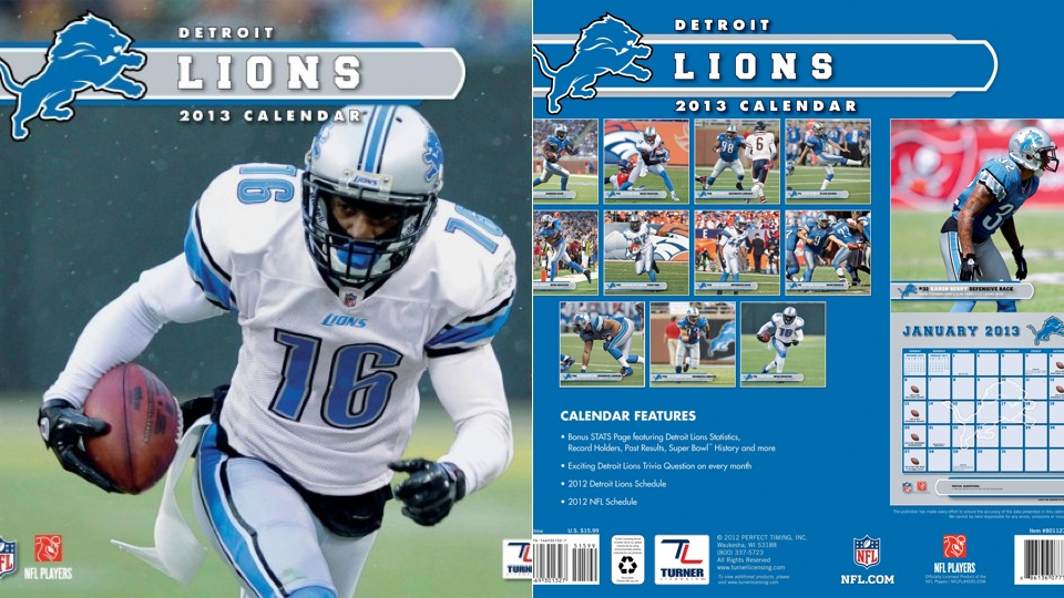 This Detroit Lions Calendar Is A Disaster In Every Way Imaginab…