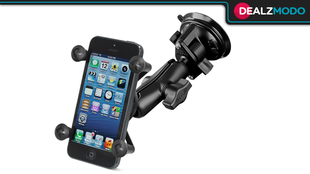 Click here to read The Military-Grade iPhone Windshield Mount Is Your Dealzmodo-Exclusive Deal of the Day