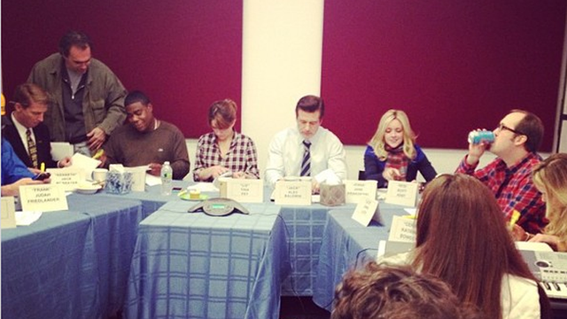 Dot Com Just Tweeted a Picture of 30 Rock's Last Ever Table Read