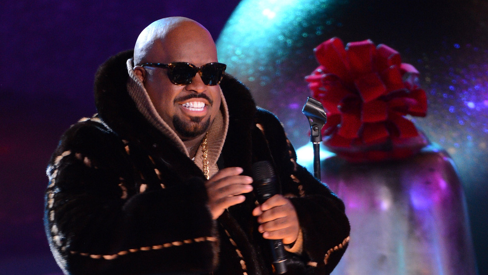 Cee-Lo Green Is Just Constantly Farting in Christina Aguilera's Face All the Time