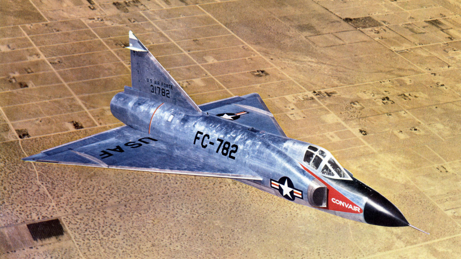 How America's First Delta Wing Fighter Prevented WWIII