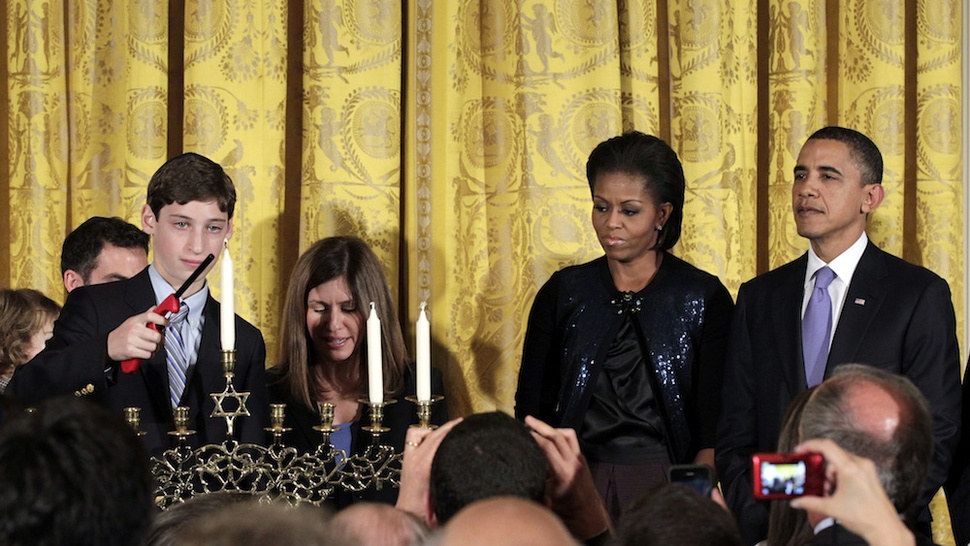 """Chag Sameach:"" Barack Obama Plagiarized his Hanukkah Statement from Previous Holiday Greetings"