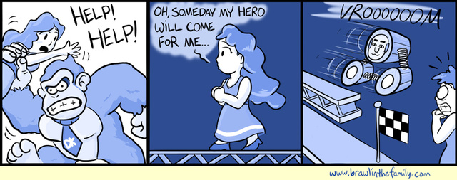 Sunday Comics: Unlikely Hero