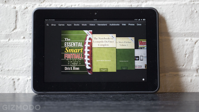 Amazon's Got $50 Off Every 8.9-inch Kindle Fire HD Today (If You're Quick)